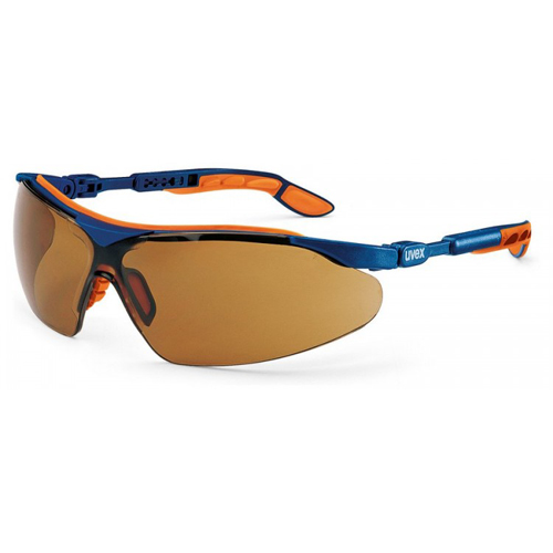 Lunettes de protection uvex i-vo 9160-068 monture bleue/orange