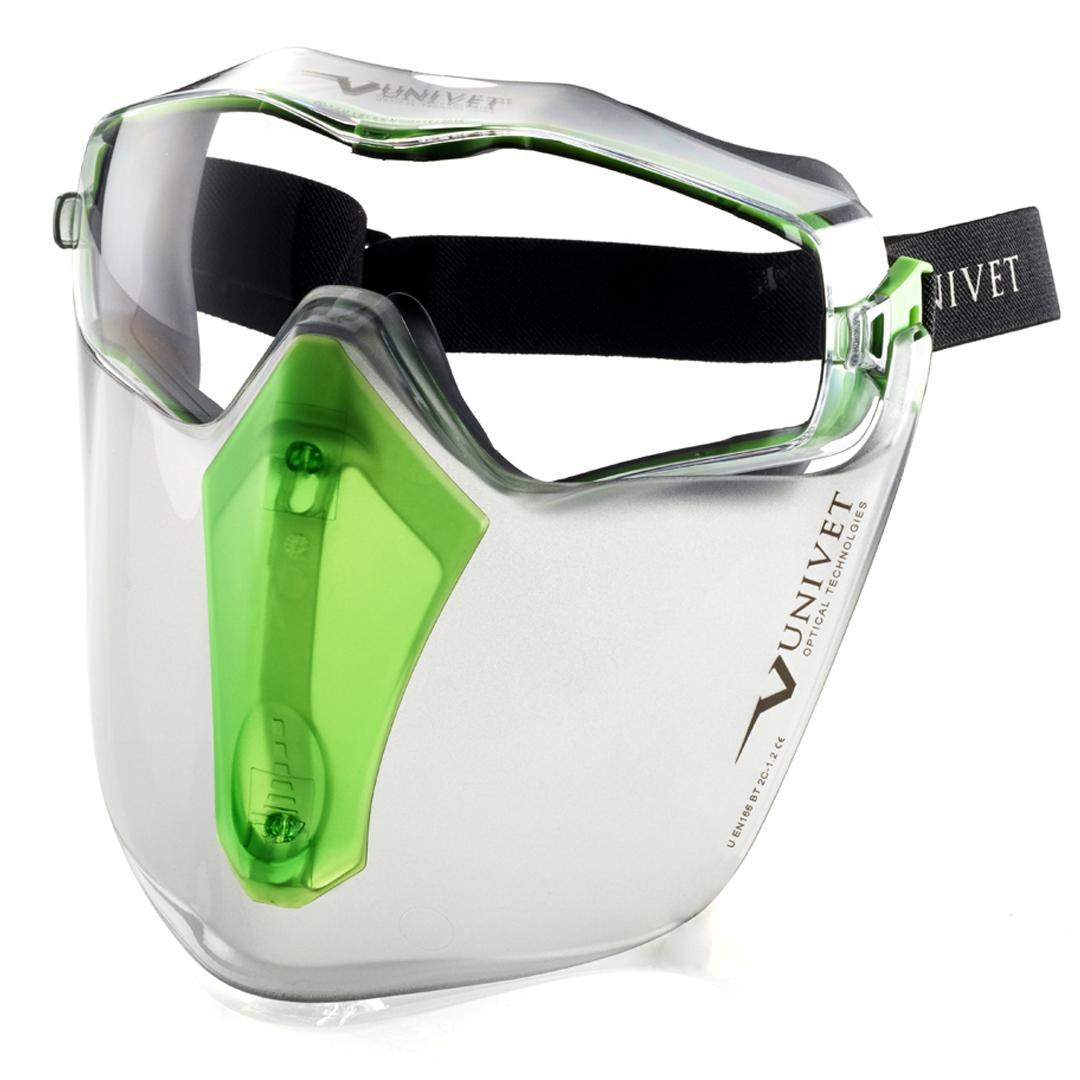 univet 6x3 lunette masque avec ecran facial. Black Bedroom Furniture Sets. Home Design Ideas